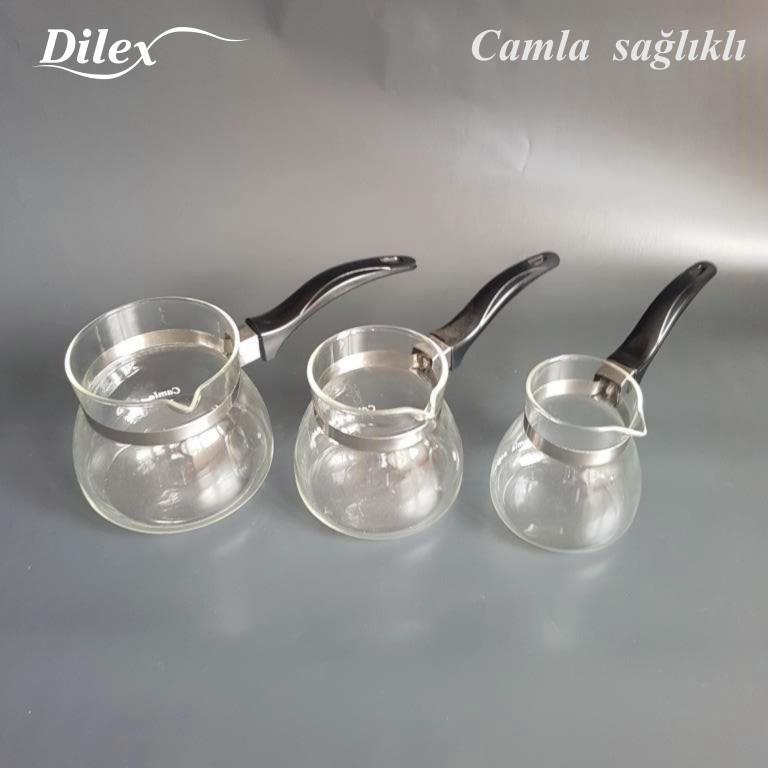 Dilex 1 Litre Cam Cezve