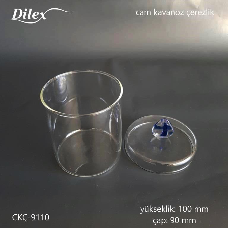 Dilex Mavi Kulplu 100mm Cam Çerezlik