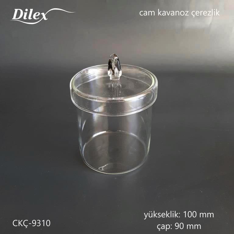 Dilex Siyah Kulplu 100mm Cam Çerezlik
