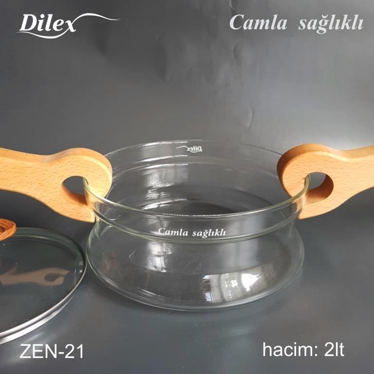Dilex 2 Litre Pilav Cam Tencere