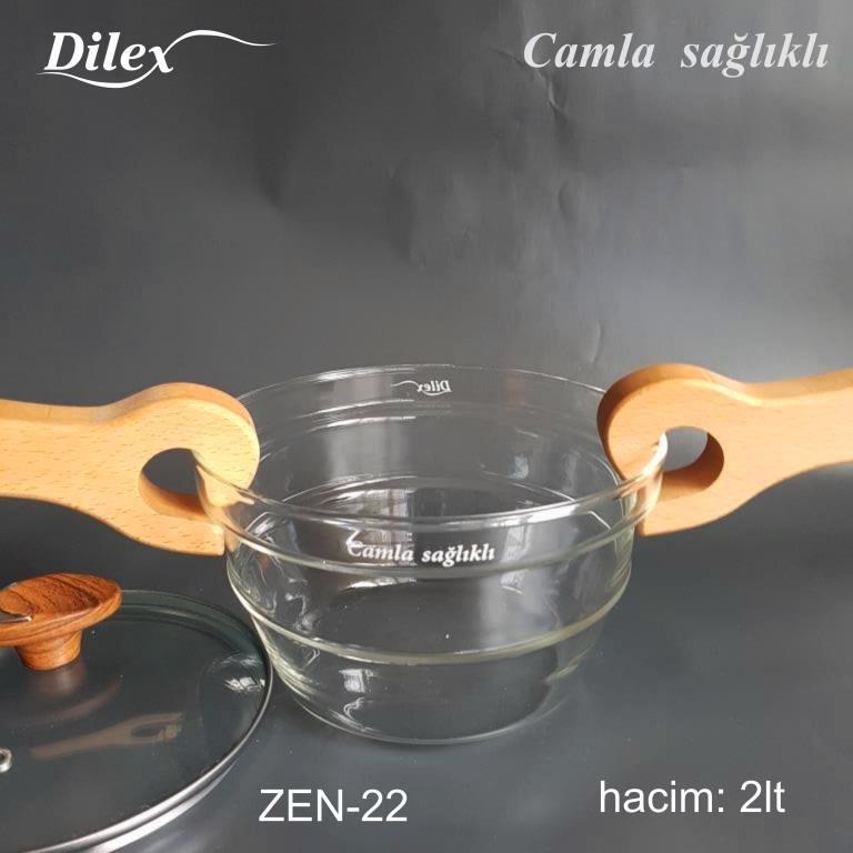 Dilex 2 Litre Cam Tencere