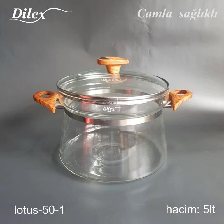 Dilex 5 Litre Cam Tencere