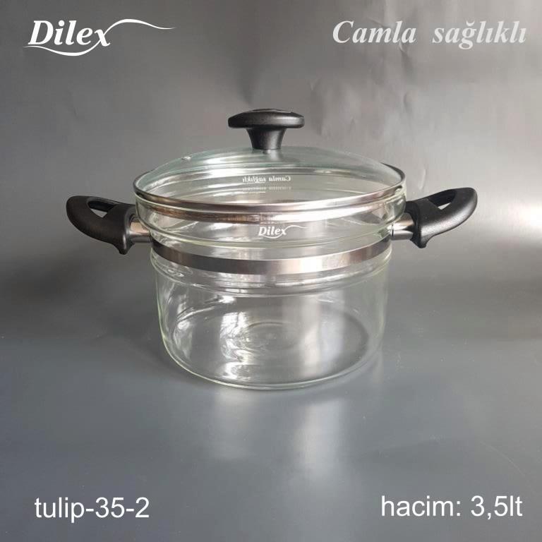 Dilex 3.5 Litre Cam Tencere