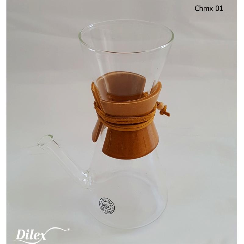 Dilex 0.45 Litre Kahve Cam Chemex