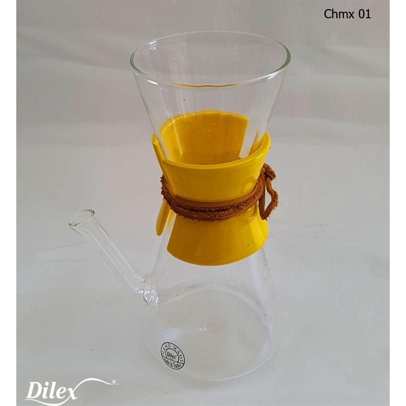 Dilex 0.45 Litre Sarı Cam Chemex
