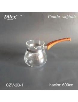 Dilex 600 ml Cam Cezve