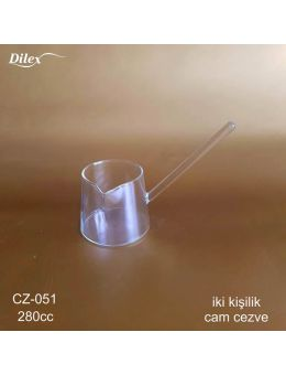 Dilex 280 ml Cam Cezve