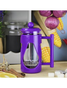 Bore More 350 ml Damla French Press Mor