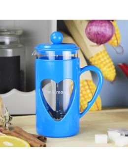 Bore More 350 ml French Press Mavi